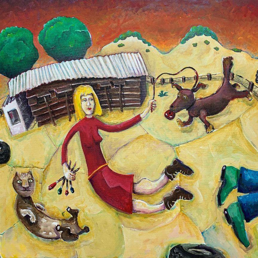 Ted Meyer - Anna in the Desert