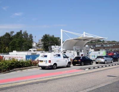 Kittybrewster hydrogen fuelling station