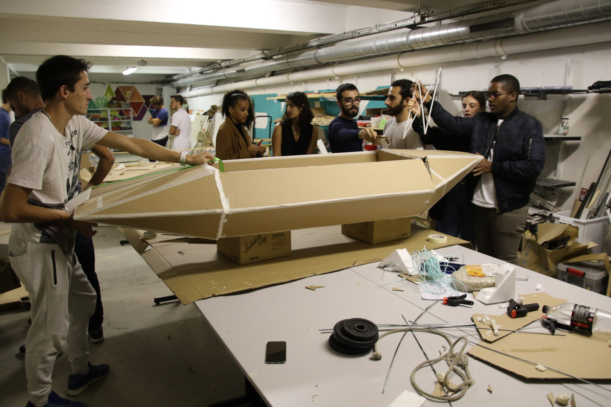 From Sustainable Bamboo Ark design at Design School in France