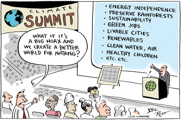 Carton global warming