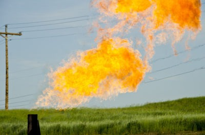"""""""Orvis State natural gas flare"""