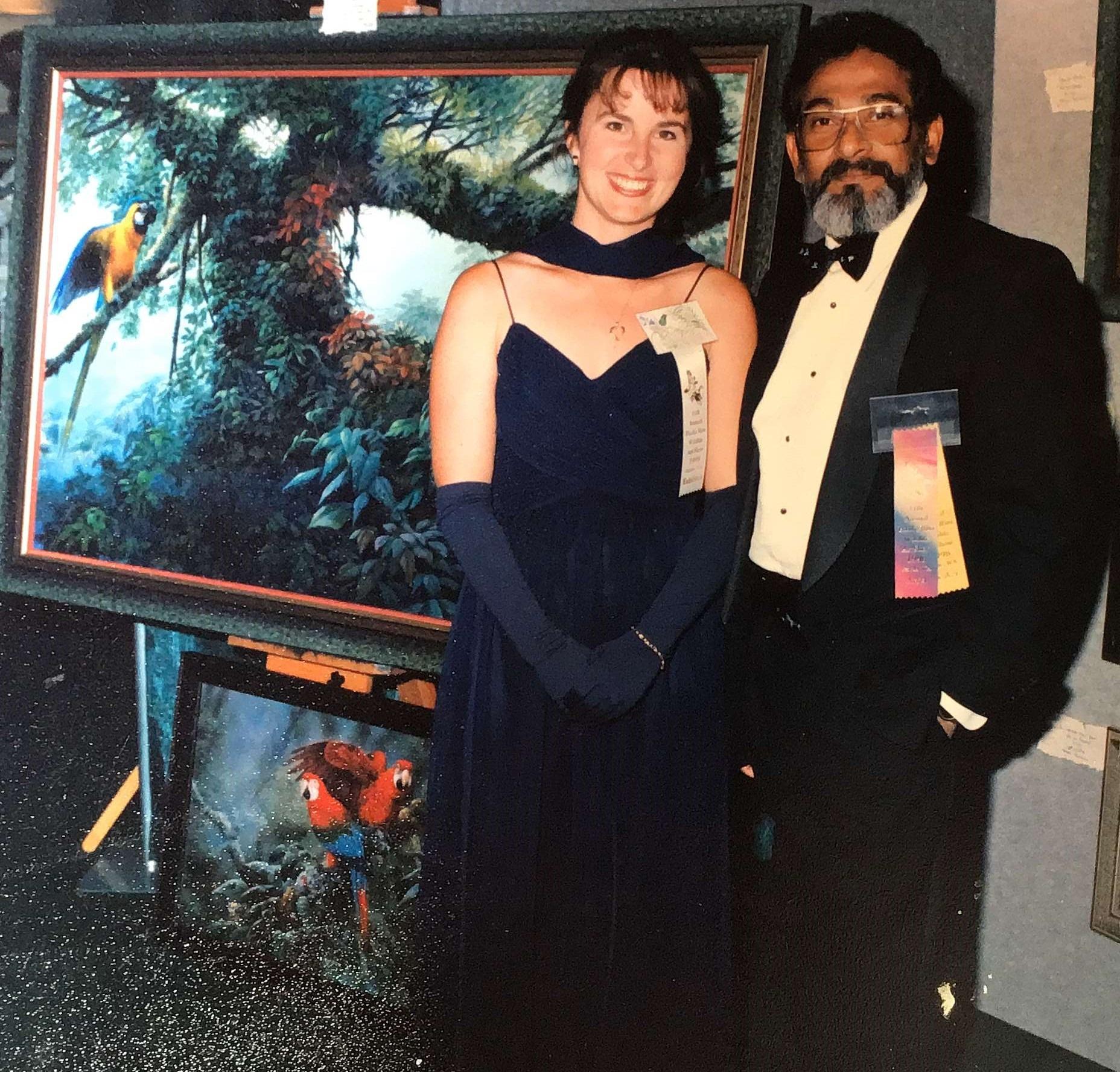 Lisa and Gamini Ratnavira PacRim 1998 Image