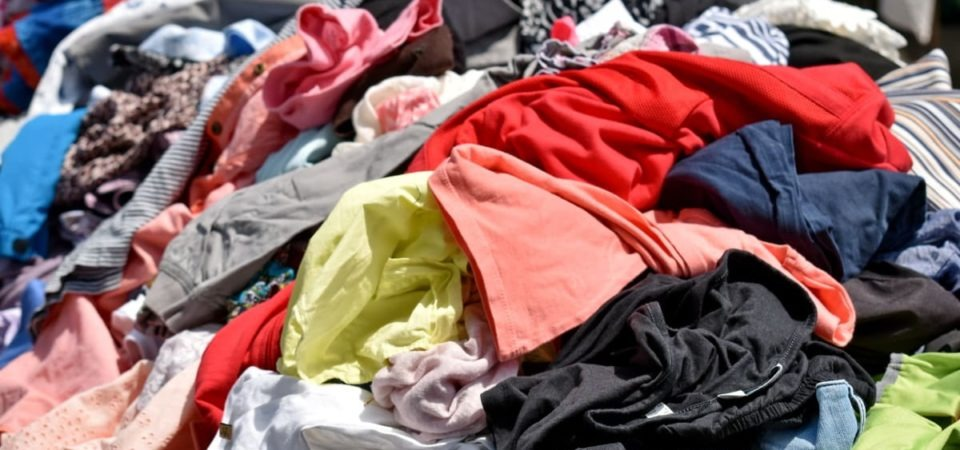 Heap of clothes - image