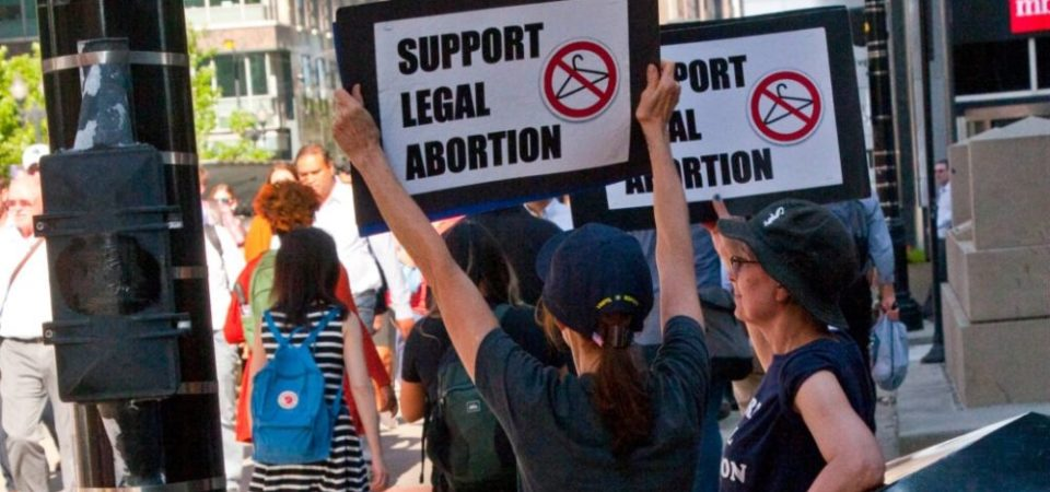 Pro-Choice Demonstrators Downtown Chicago 7-9-18 2502