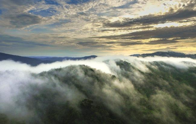 Aerial Continental Divide Guna Yala (redlands)